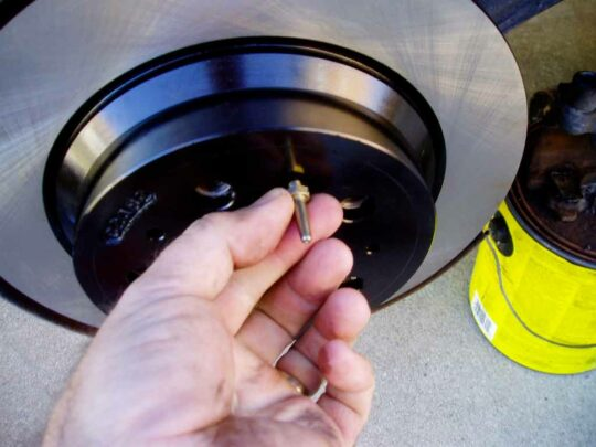 S80 Brake Job Rotors Pads -