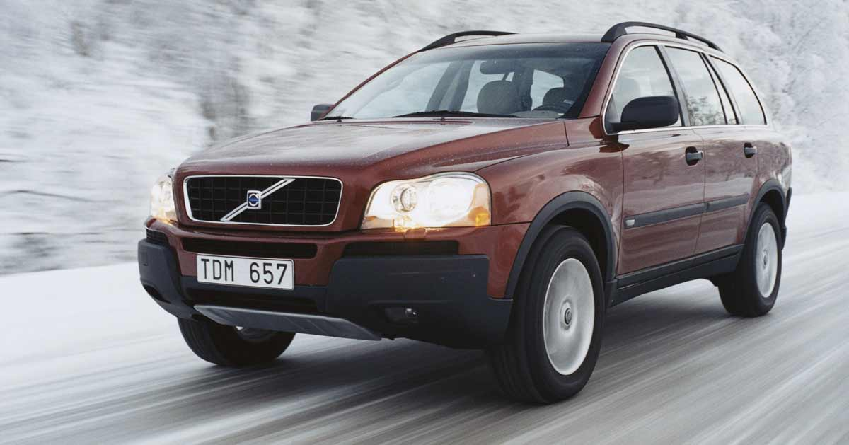 Volvo XC90 Winter Driving