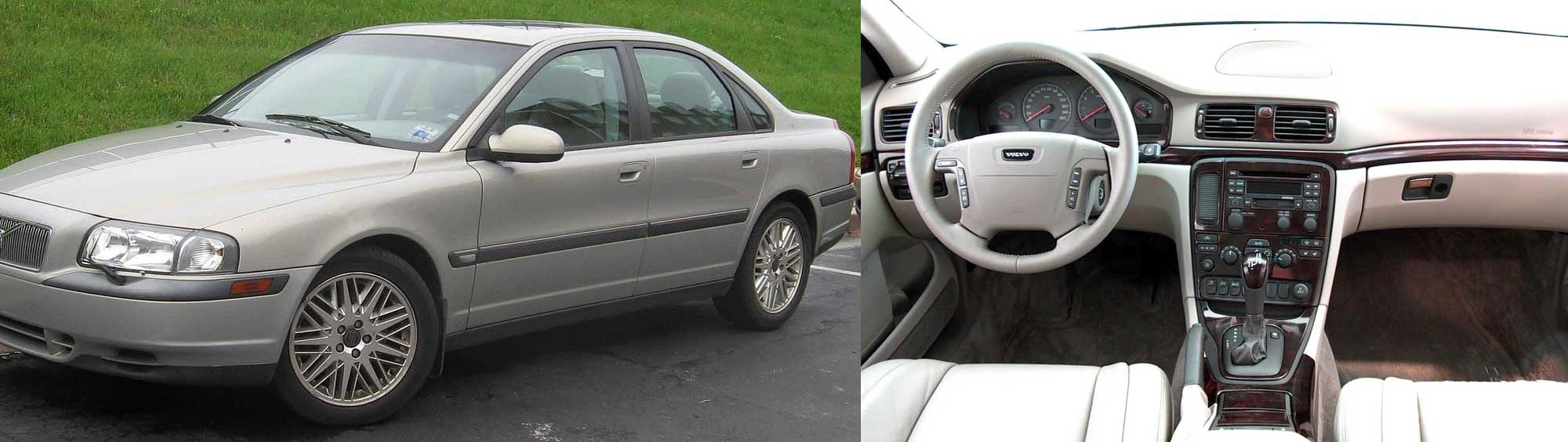 First generation Volvo S80 - exterior and interior