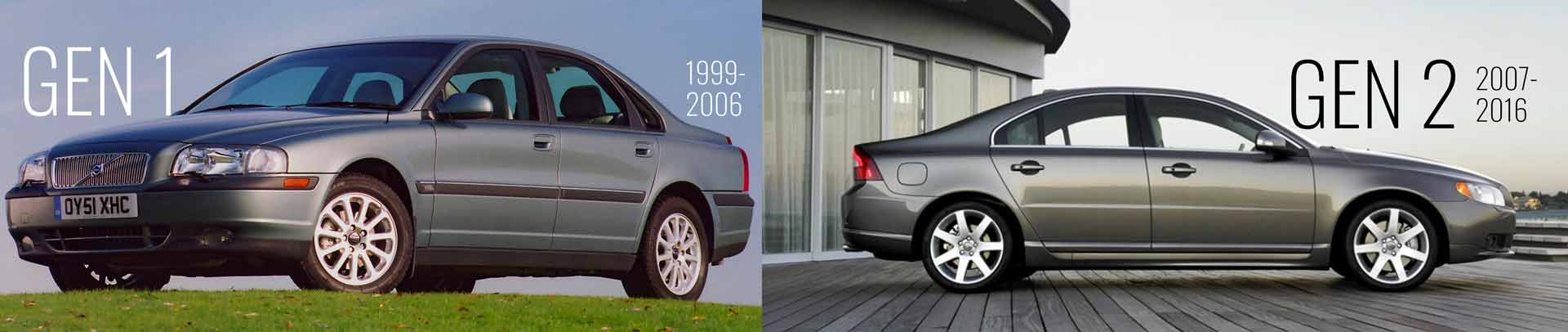 S80 Page 1999 S80 and 2009 S80