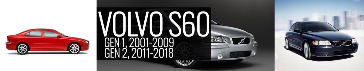 Volvo S60 Gen 1 P2 2001 2009