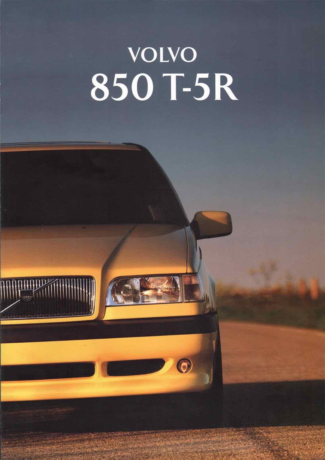 Volvo 850 T5 R Brochure Se -