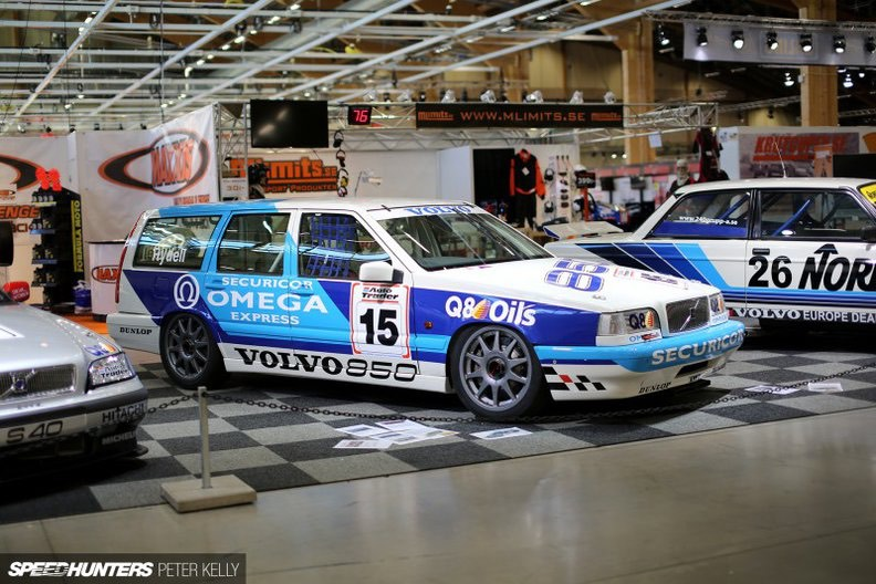 Volvo goes racing. The 1994 850 competed in the BTCC.