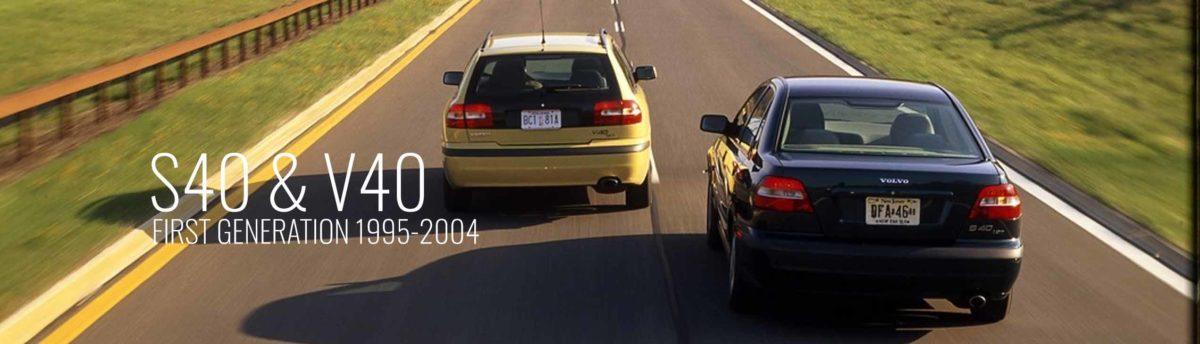S40 V40 Gen 1, 1995-2004