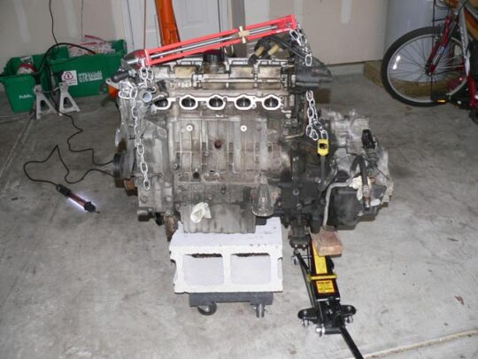 5cyl and transmission