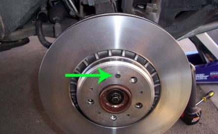 Volvo XC90 Front Brake Job