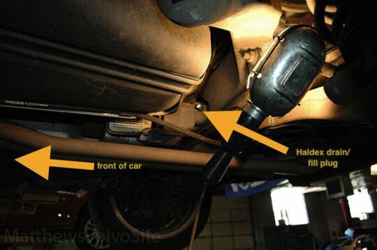 Volvo V70 R Haldex Drain Plug -