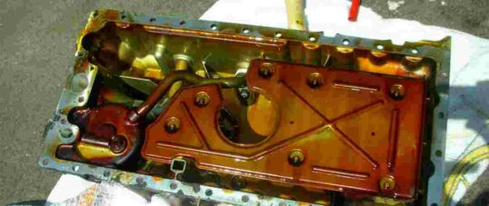Oil Pan Sump O Ring Replacement -