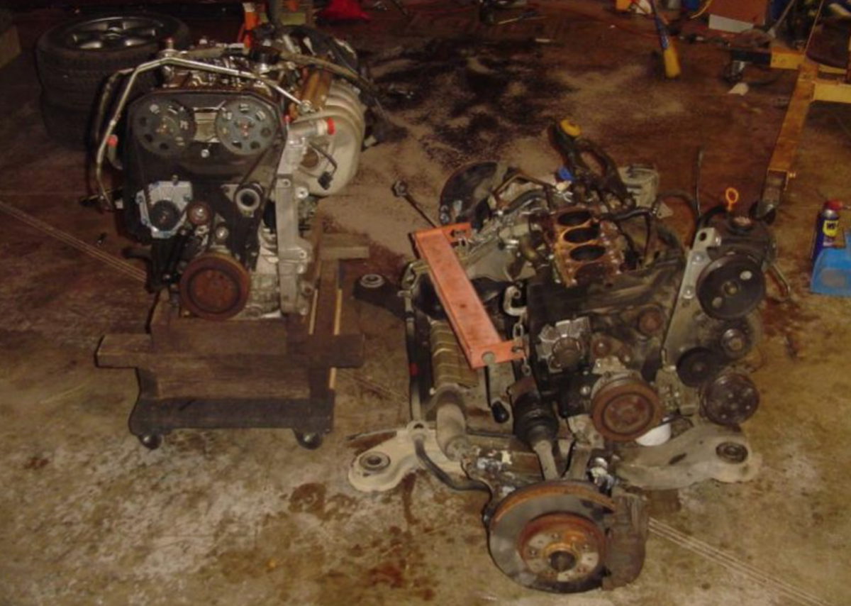 850 engine replacement