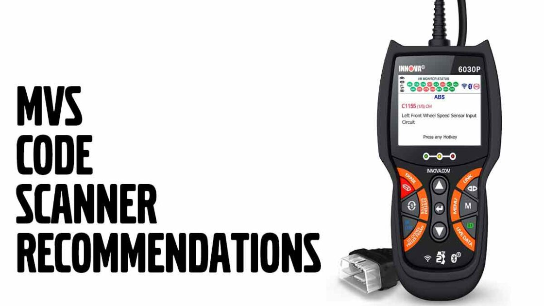 Mvs Code Scanner Recommendations -