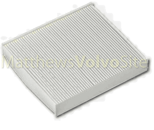 Volvo S40 cabin air filter
