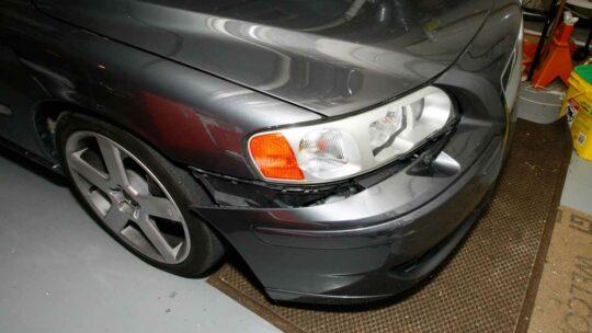 sagging bumper fix