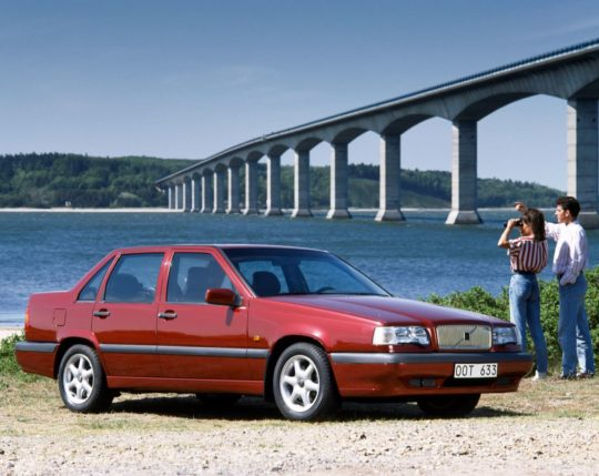 Volvo 850 on a roadtrip