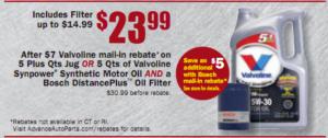 Valvoline SynPower Synthetic Motor Oil