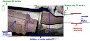 Replacement Volvo Catalytic Convertor