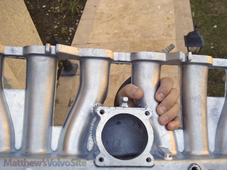 S80 exhaust manifold