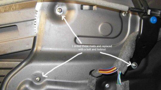 Door Rattle Fix -
