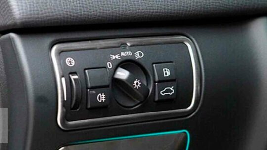 XC60 Headlight Switch -