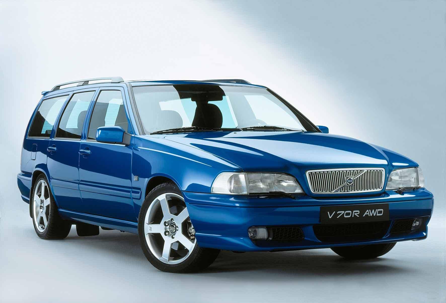 Volvo V70 R Awd - Laser Blue