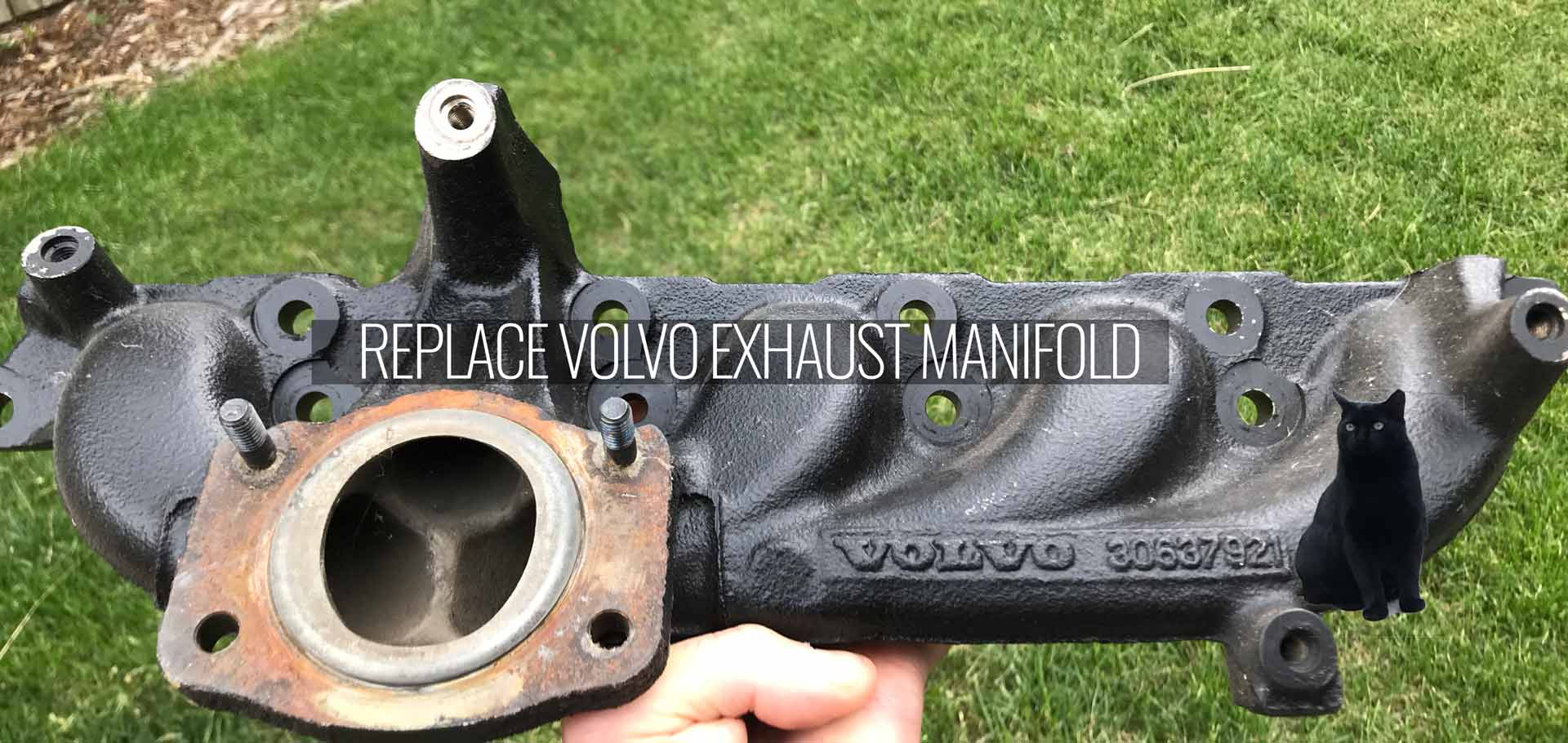 Replace Volvo Exhaust Manifold -
