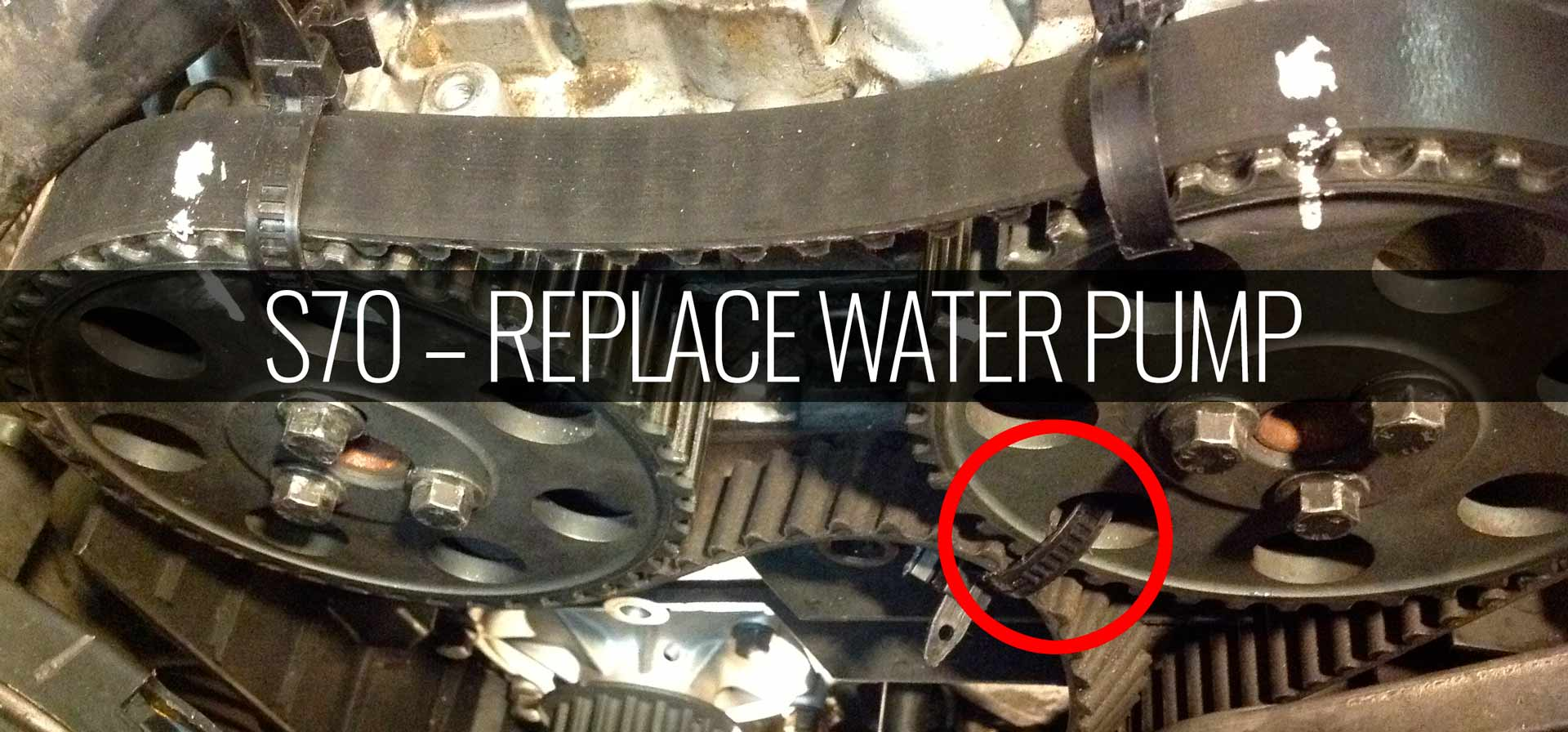 S70 Replace Water Pump -