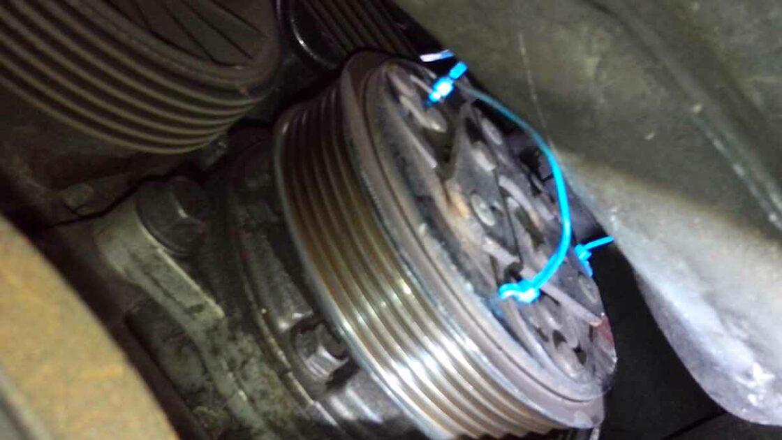 Zip Tie Ac Fix Compressor -