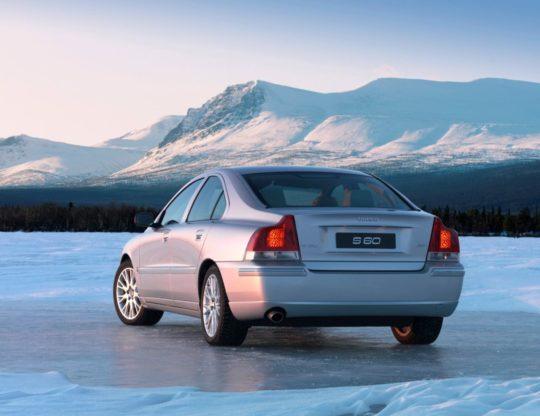 S60 on ice