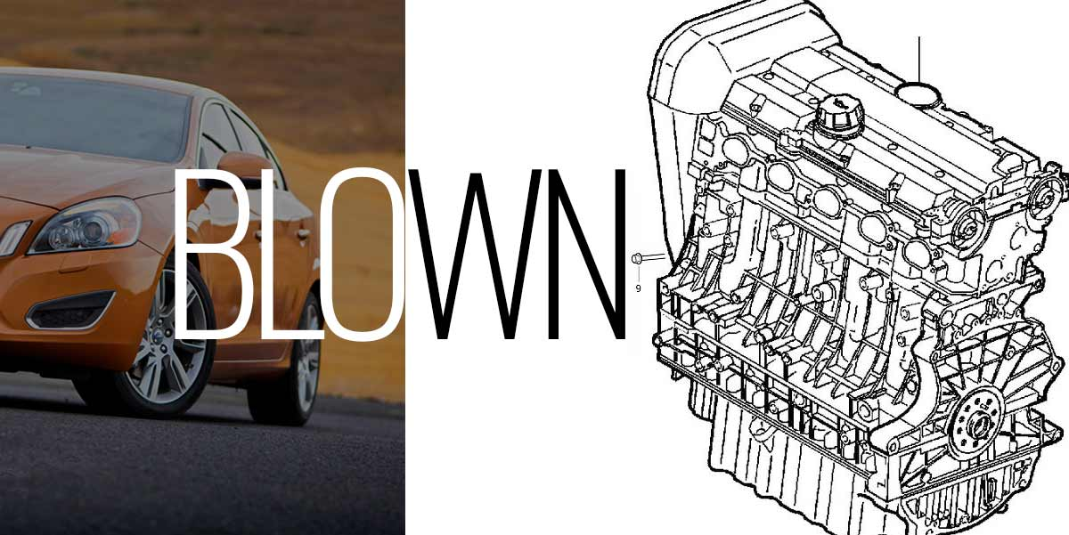 S60 Saffron Blown Engine -