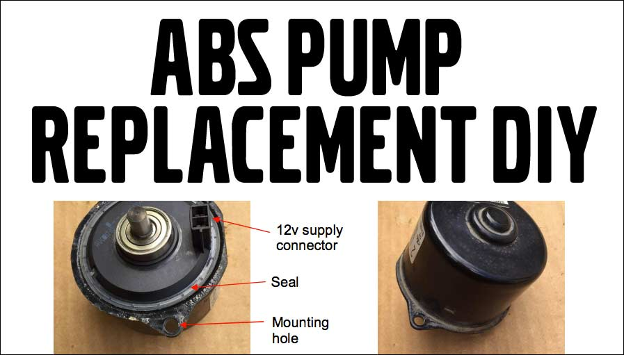 Abs Pump Replacement Diy For 2001 2009 S60