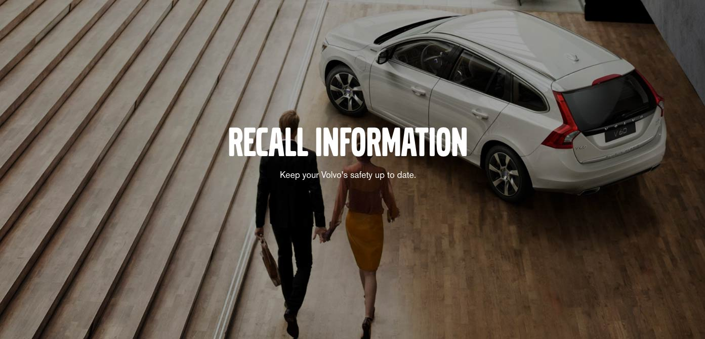 Largest Volvo Recall Ever