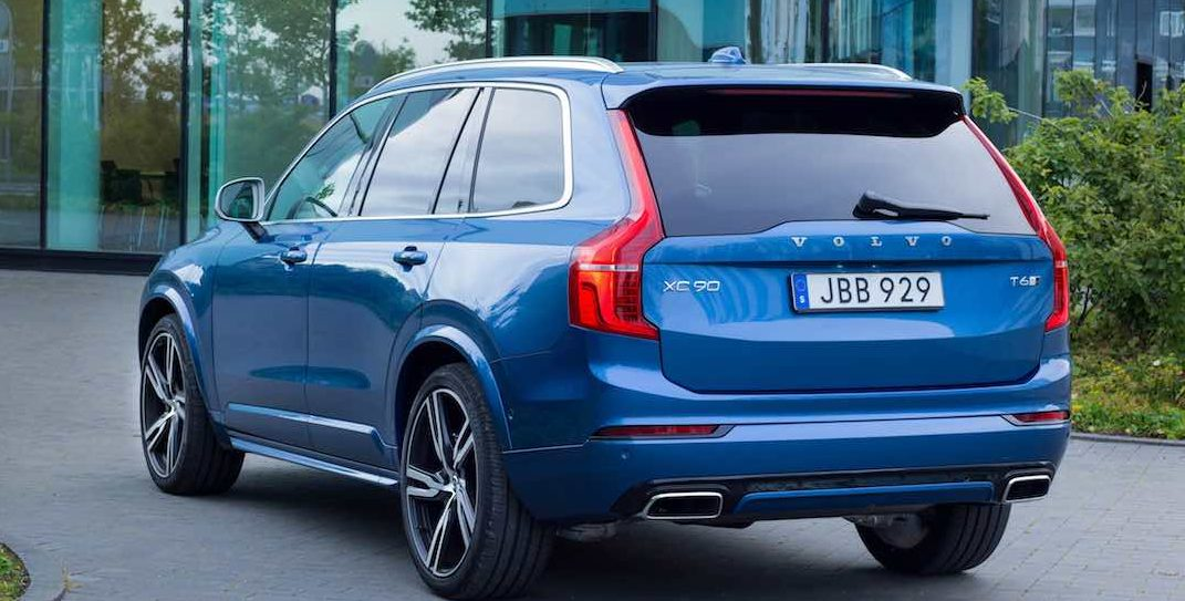 Volvo XC90 R Design Model Year 2016