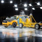 New Volvo Xc40 Crash Test Side Impact From 3/4 Angle