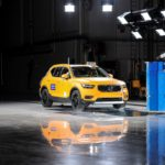 New Volvo Xc40 Small Overlap Crash Test