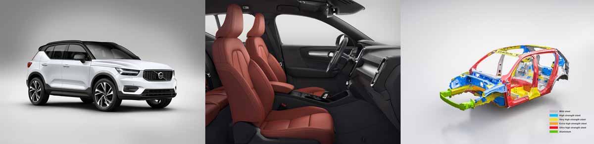 xc40 three looks - Volvo XC40