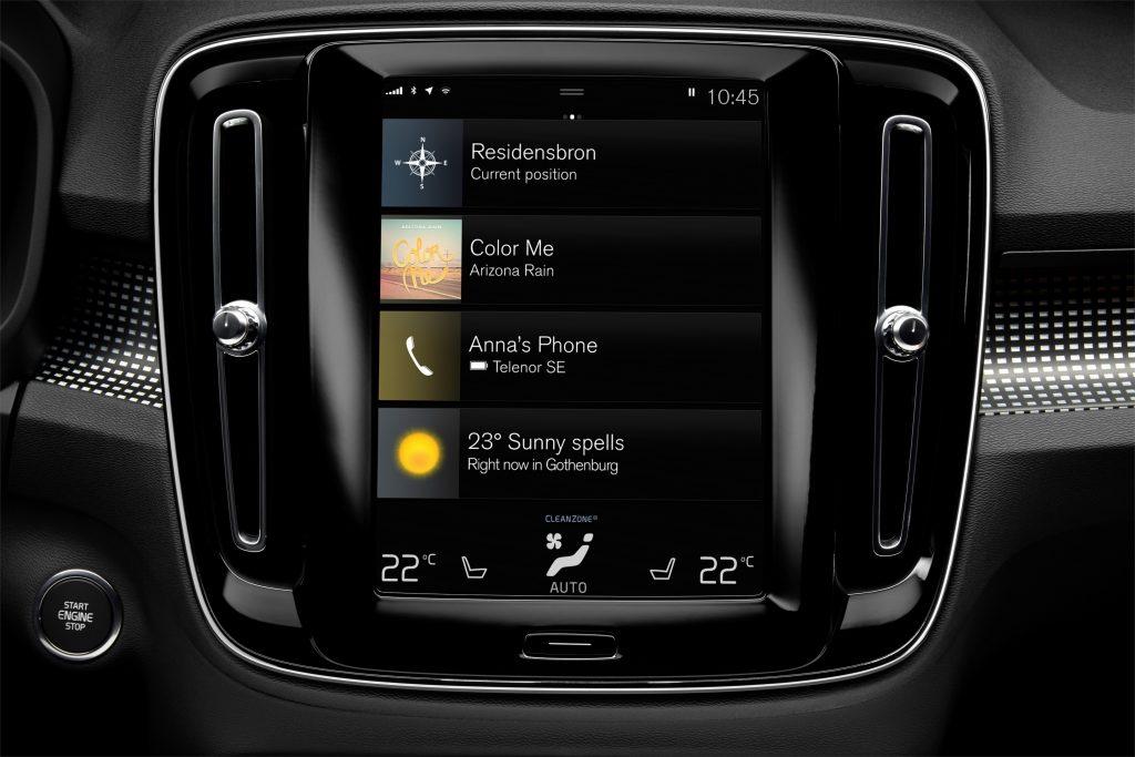 New Volvo XC40 Interior - The V40 will be very similar
