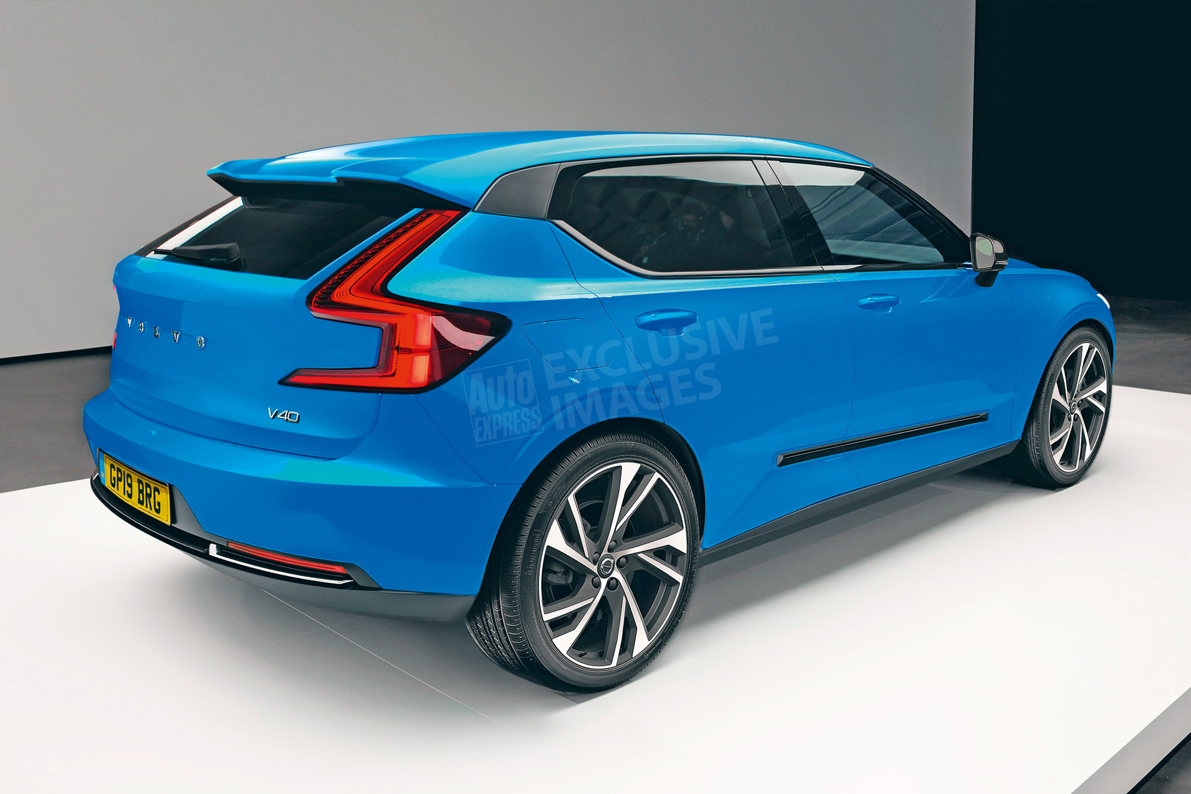 A Sneak Peek At The 2019 Volvo V40 Mvs