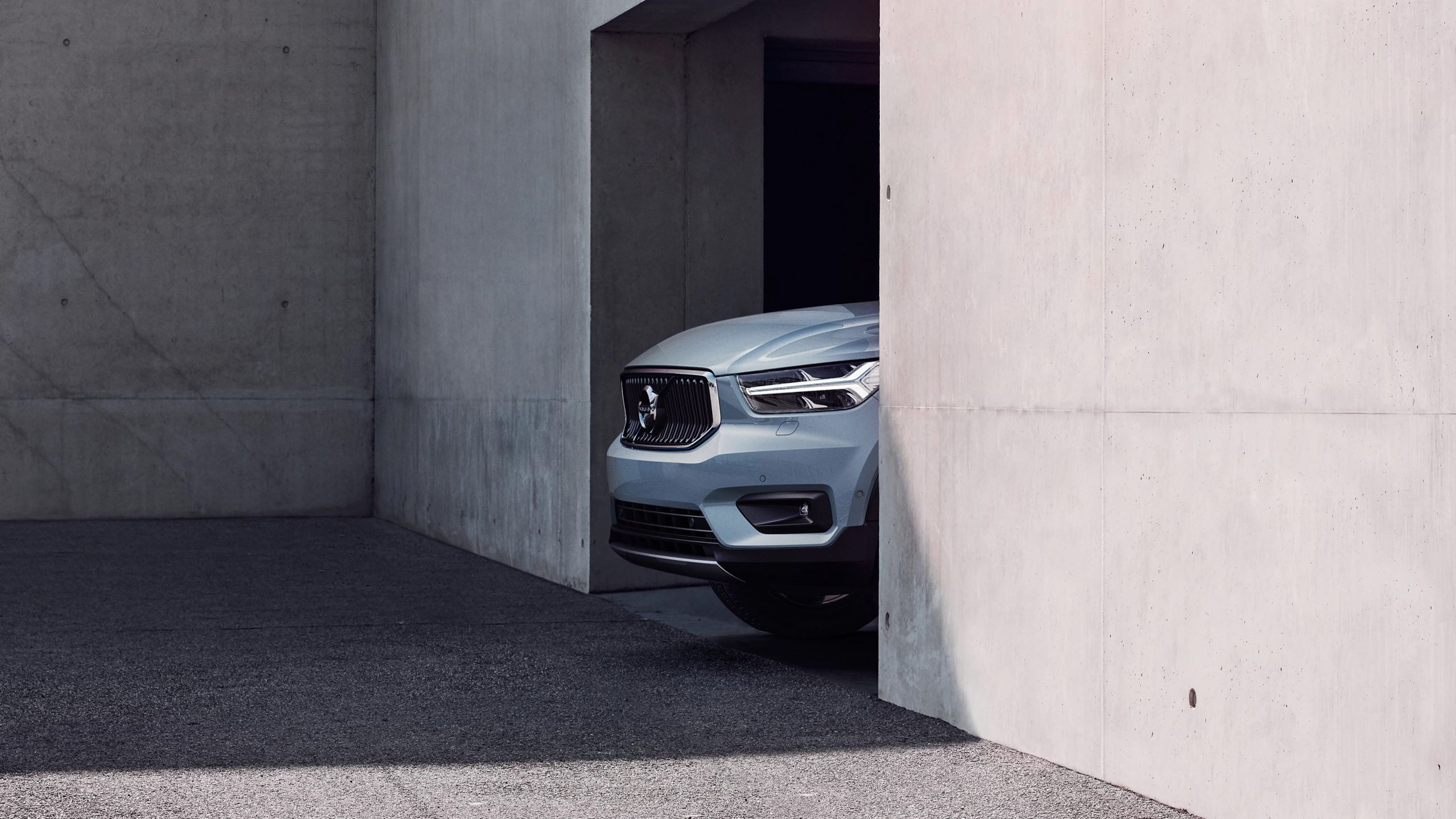 New Volvo XC40 Front -  2017, 2018, 2018 New XC40, Design, Detail, Exterior, Images, New XC40