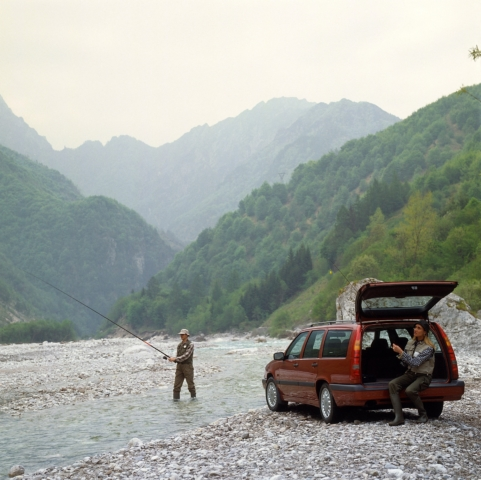 Volvo 850 -  850, 850 wagon, 1995, Exterior, Historical, Images, People