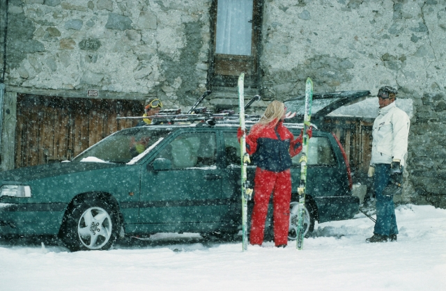 Volvo 850 -  850, 1995, Exterior, Historical, Images, People