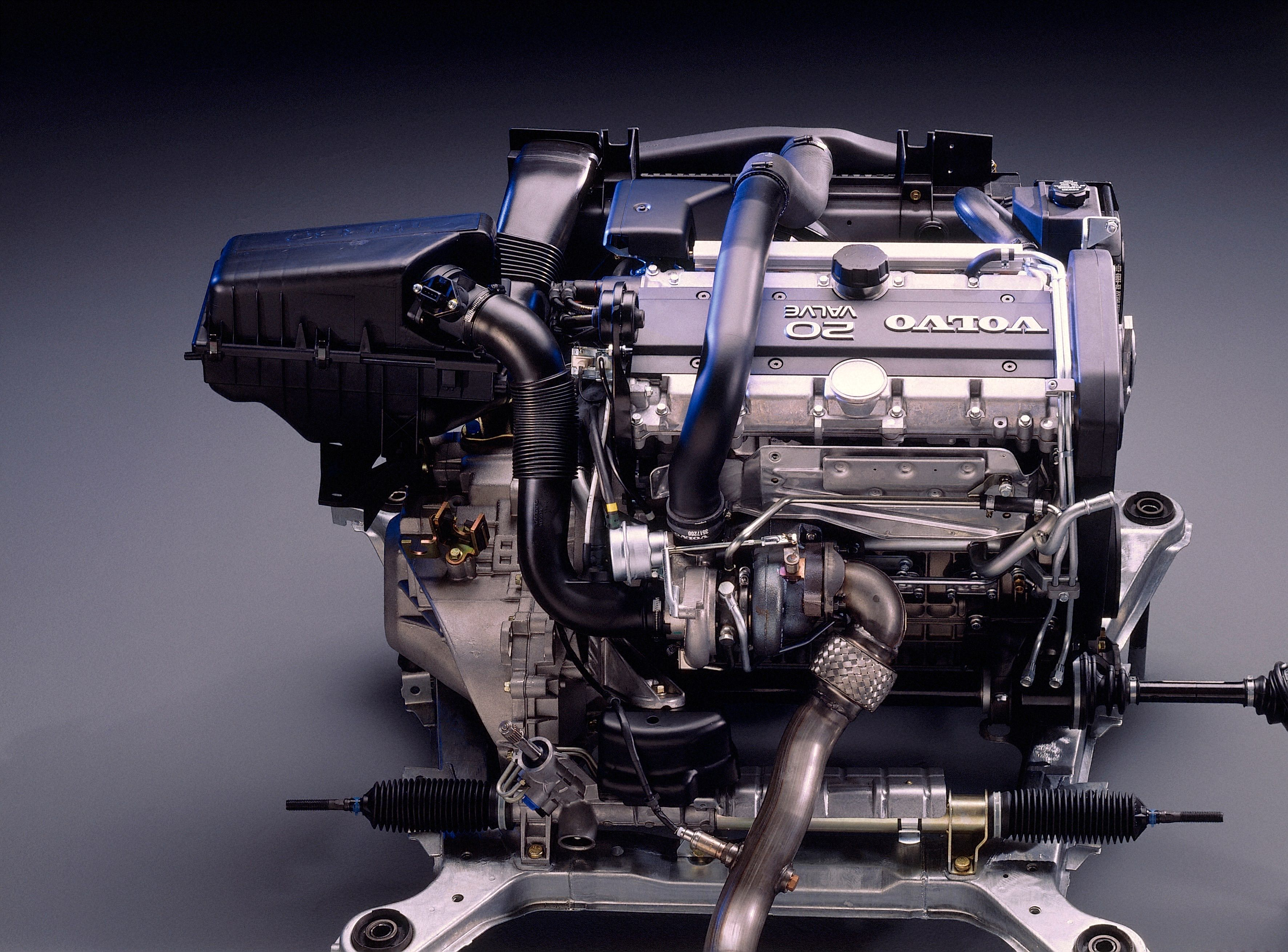 Volvo 850 -  850, engine, Historical, Images, Other, Technology