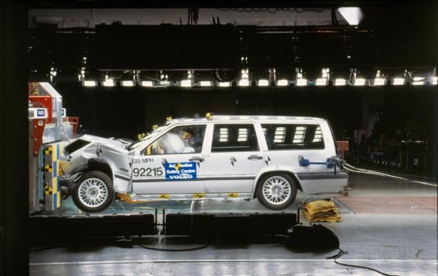 Volvo 850 Crash Test -  850, 1994, Exterior, Historical, Images, Safety