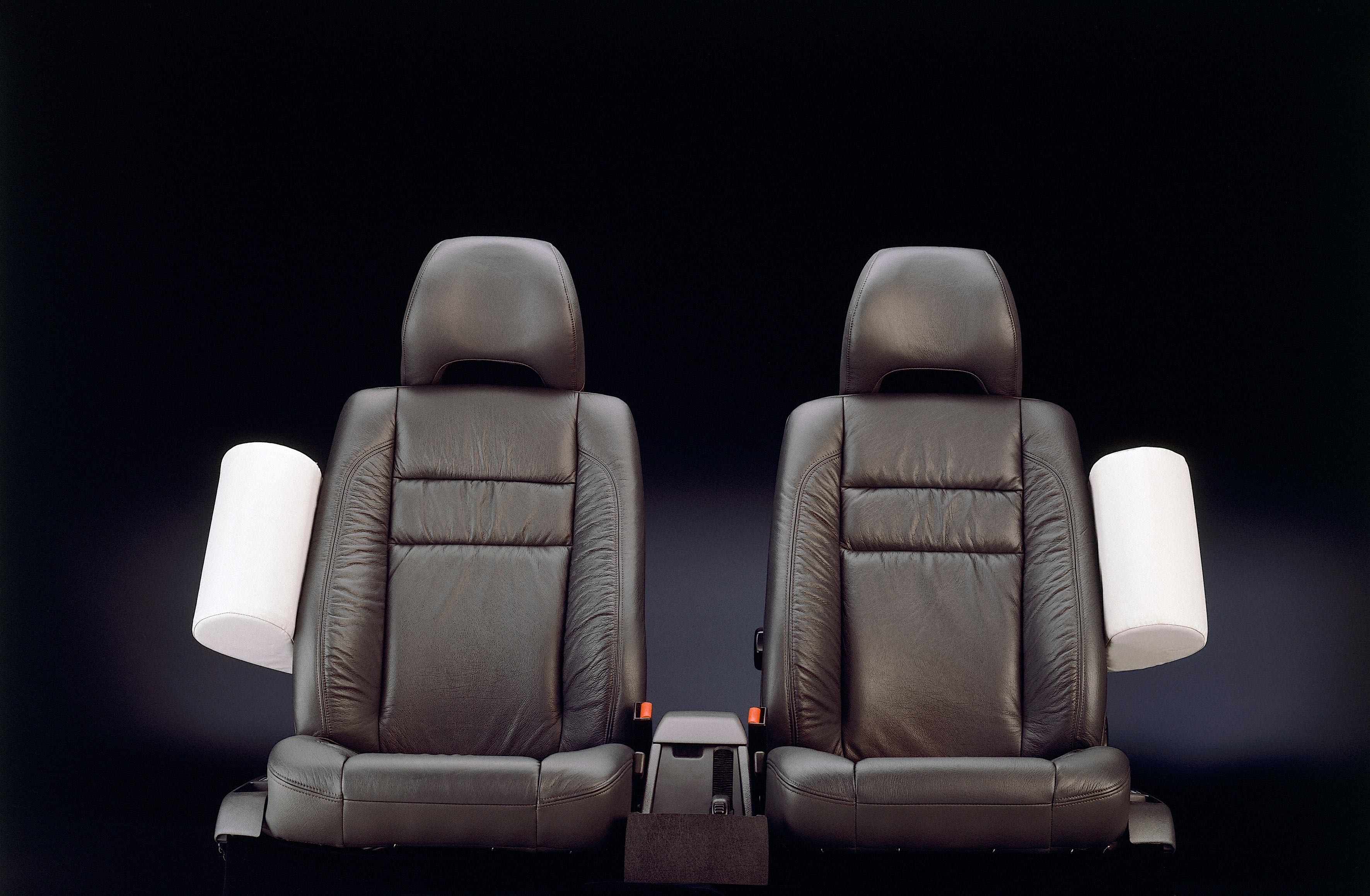 Volvo 850 Interior Seats With Side Impact Protection System Sips -  850, 1996, Detail, Historical, Images, Other, Safety, SIPS