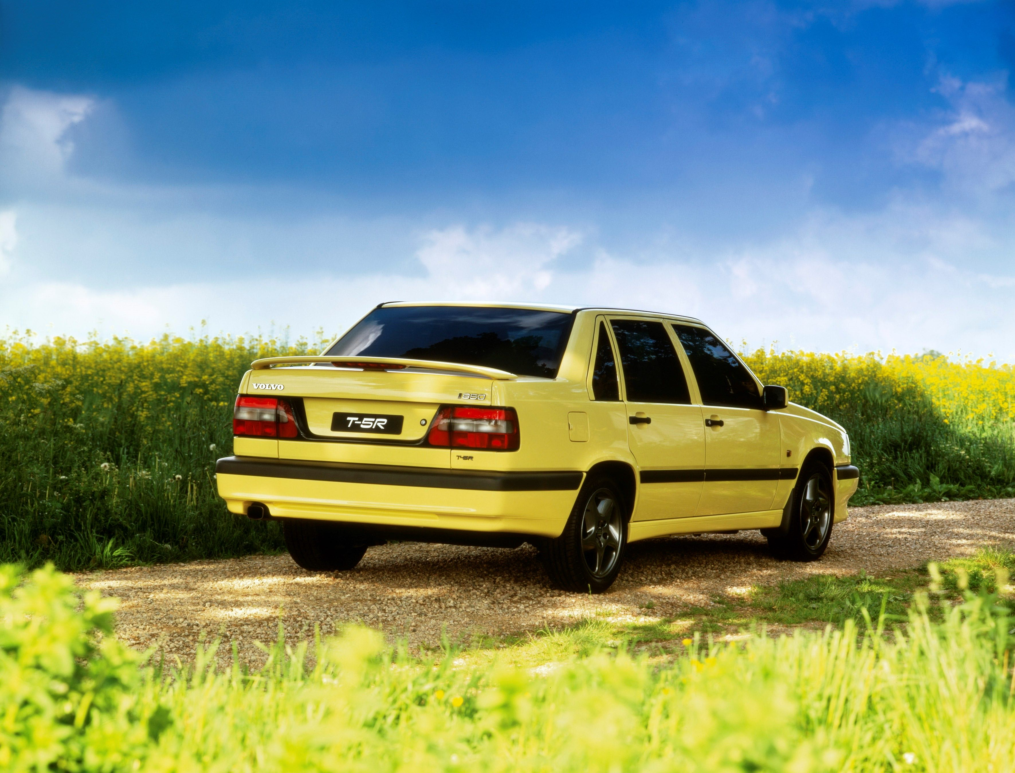 Volvo T 5r 850 -  850, 854, 1995, Exterior, Historical, Images, R, sedan, T-5R, Yellow, Yellow T-5R
