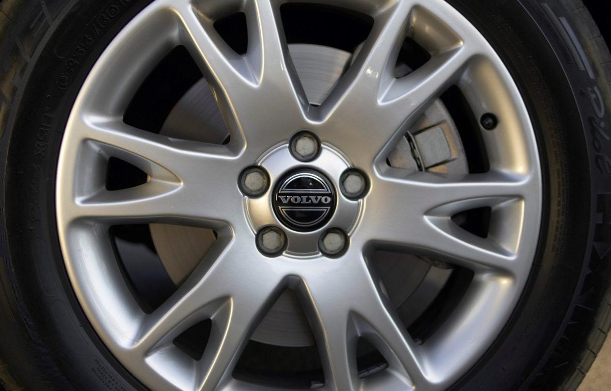 Volvo XC90 V8 -  silver, wheel, XC90 V8