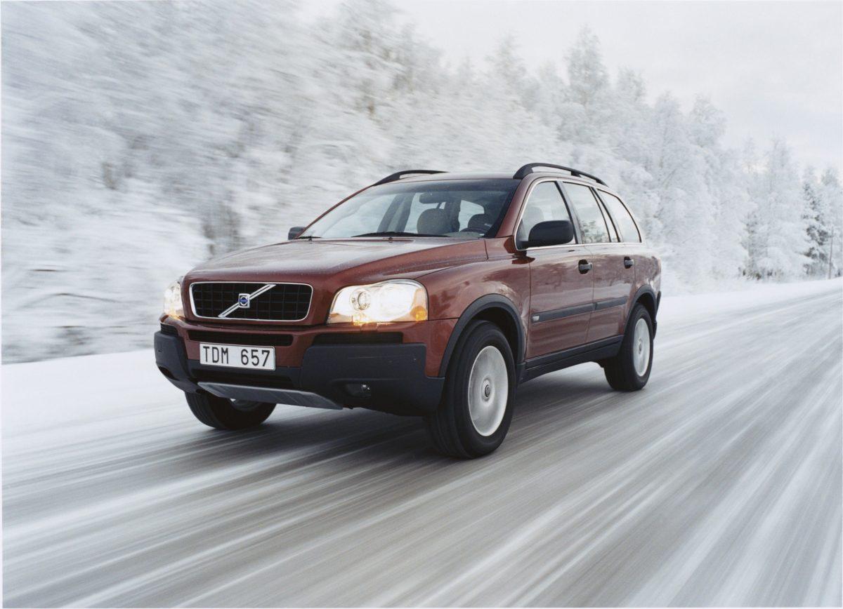 Volvo XC90 First Generation -  snow, XC90