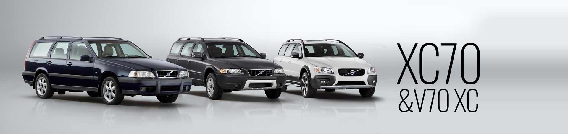 The Volvo XC70 & V70 XC - all three generations
