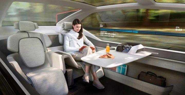 237051 Volvo 360c Interior -