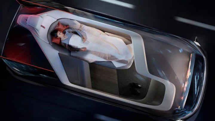 237055 Volvo 360c Interior Sleeping -