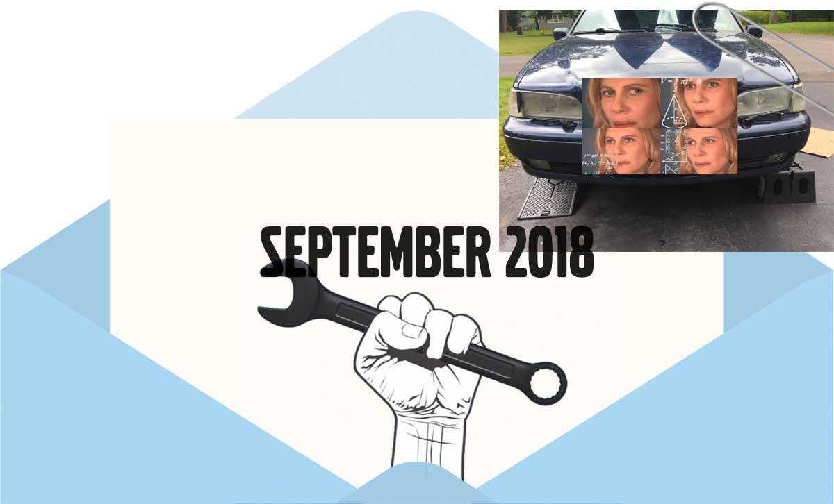 Volvo newsletter September 2018