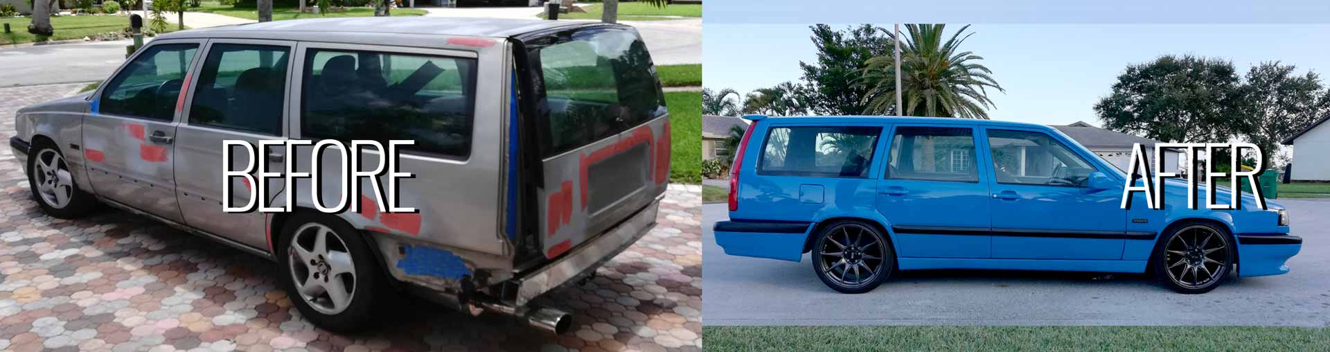 Gorgeous 1997 850 T 5 Wagon Build1 -